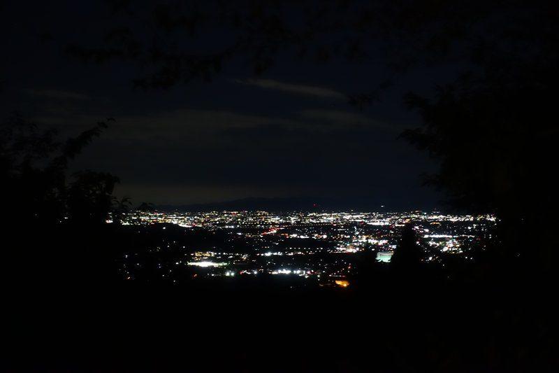 スモールサイトS2からの夜景